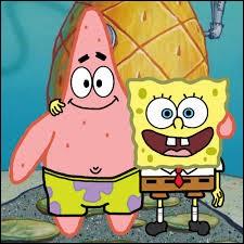 De quelle couleur Patrick l'étoile de mer est-il ?