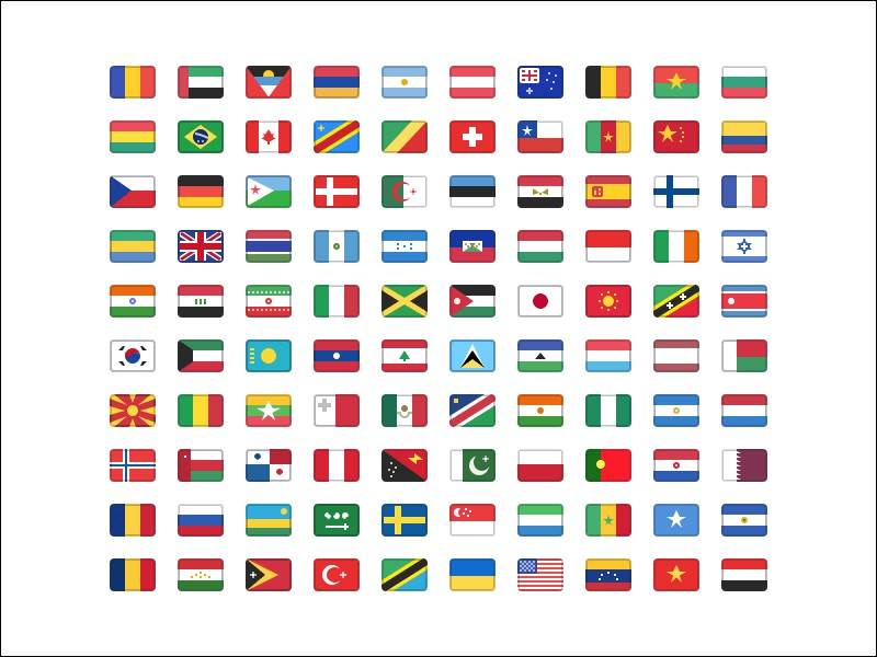 Géographie - Quel pays ne possède pas un drapeau de forme rectangulaire ?