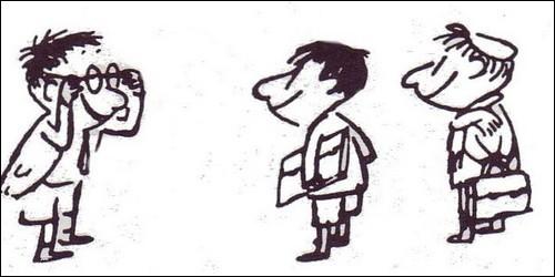 """Dans """"Le Petit Nicolas"""", comment se prénomme le personnage à lunettes ?"""