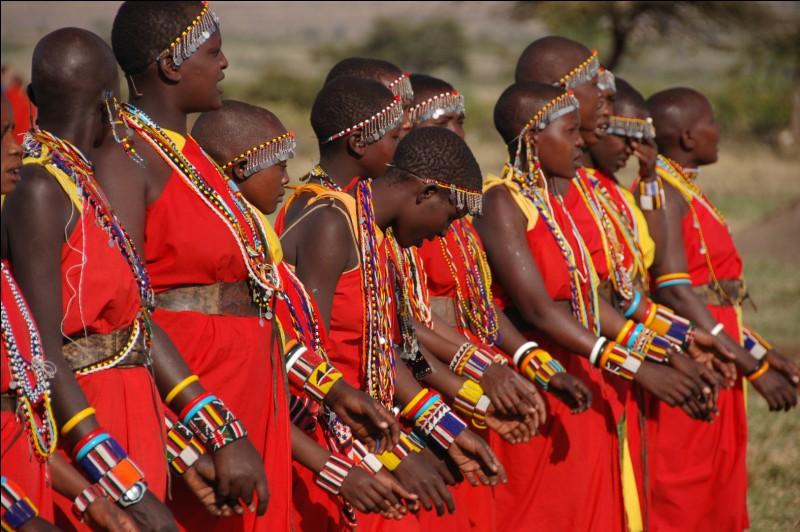 Dans quels pays d'Afrique habitent principalement les Maasaïs ?