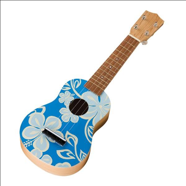 C'est un petit instrument à cordes généralement fait en bois de koa et qui fait partie de la culture hawaïenne. C'est un :