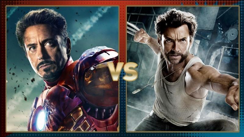 Iron Man ou Wolverine