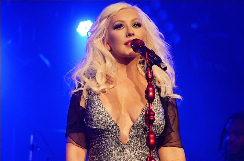 Quel est le snap de Christina Aguilera ?