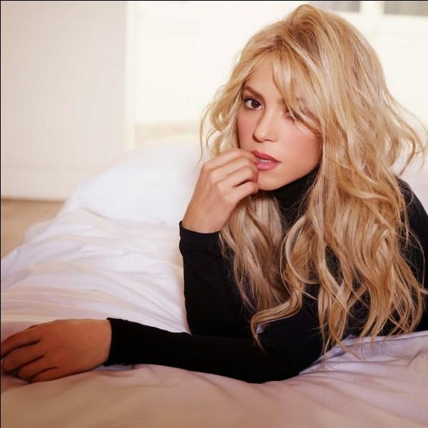 Quel est le snap de Shakira ?